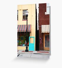 The BlueDoor Greeting Card