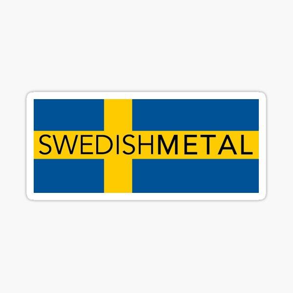 Metal sueco Pegatina