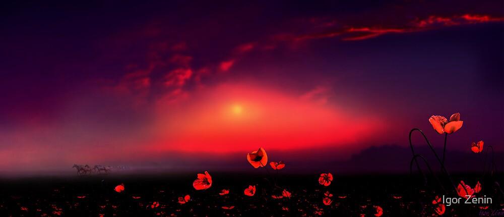 Red Dawn by Igor Zenin