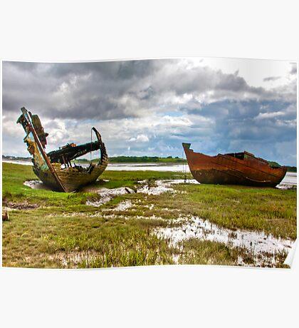The Wrecks - Fleetwood Marsh Poster