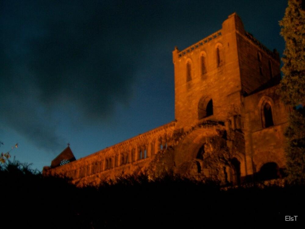Jedburgh Abbey by ElsT