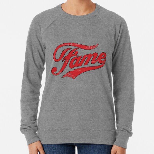 Fame Retro Vintage Distressed Faded Lightweight Sweatshirt