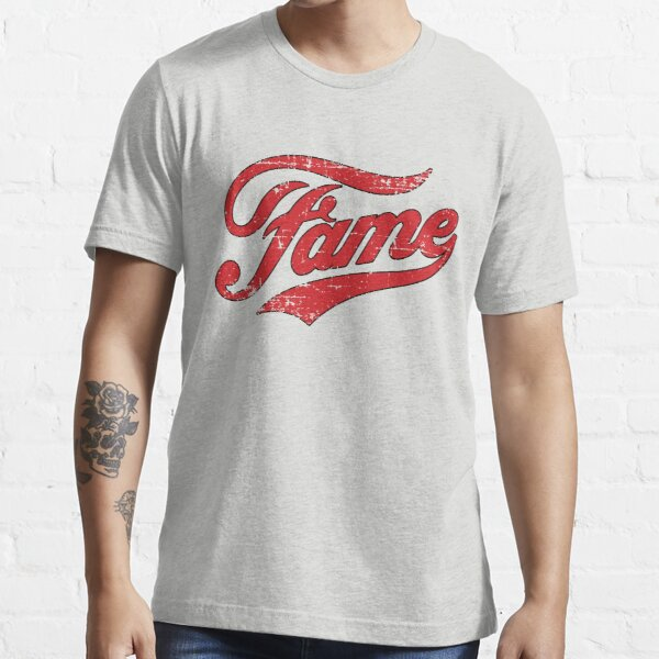 Fame Retro Vintage Distressed Faded Essential T-Shirt