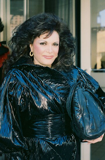 Connie Francis 1985 NYC By Jonathan Green by Jonathan  Green