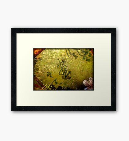 Japan Fan Framed Print