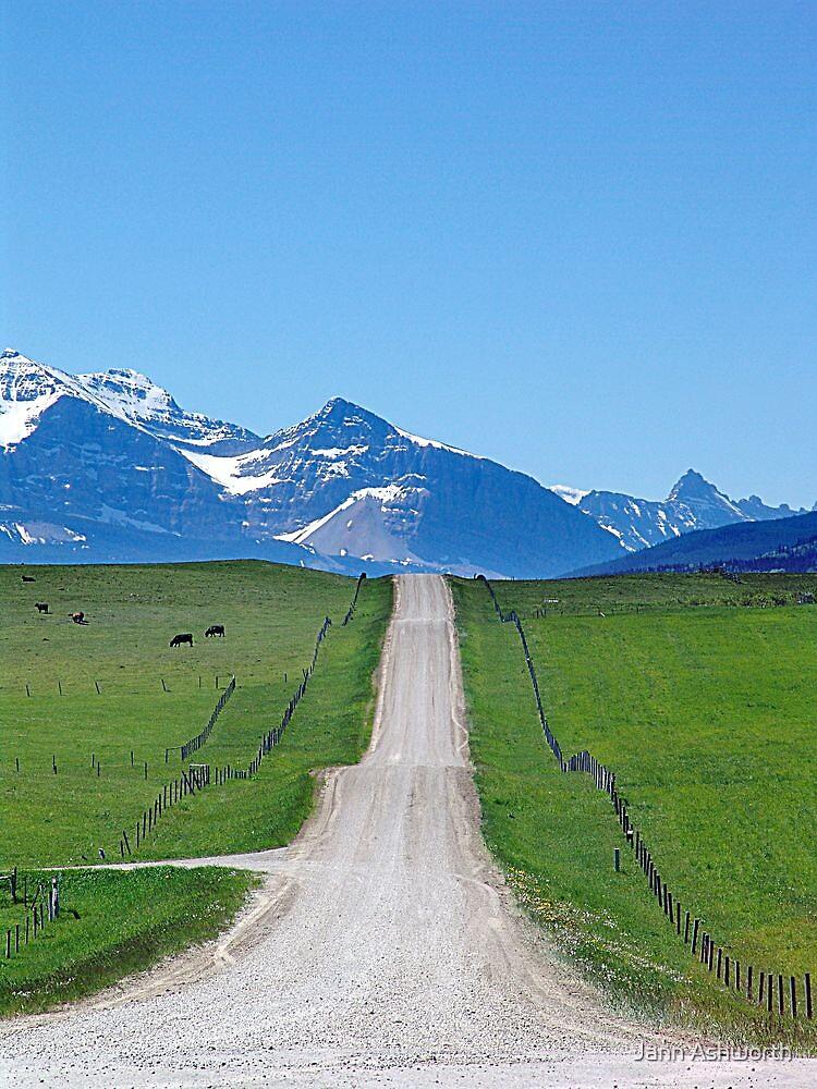Ranchland Road by Jann Ashworth