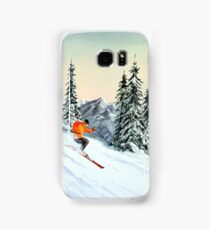 Skiing - The Clear Leader Samsung Galaxy Case/Skin