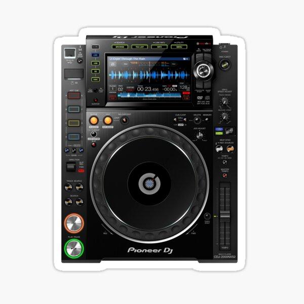 DJ CD Multi Media Player Pegatina