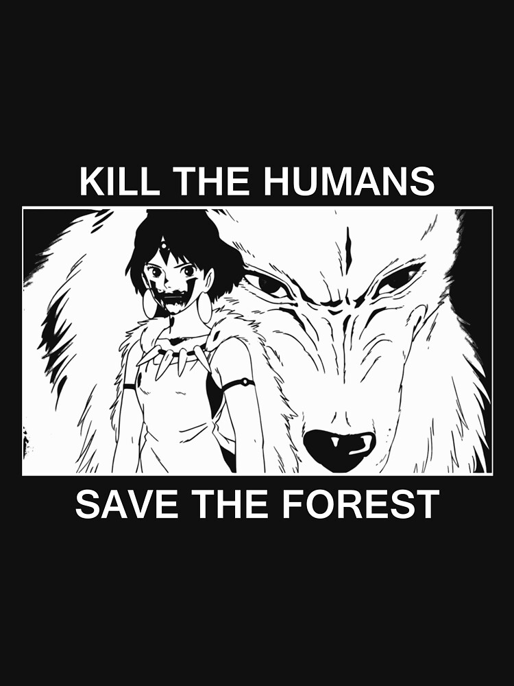 Kill the humans, save the forest | Hoodie (Zipper)