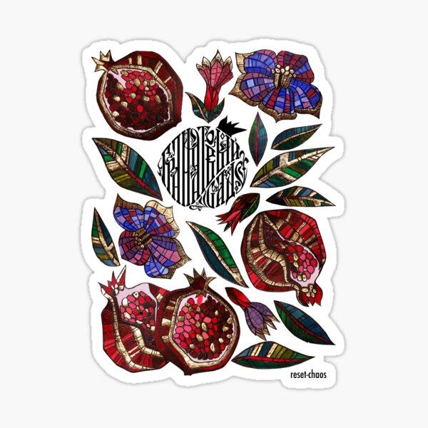 Pomegranate garden  Sticker
