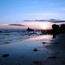Sunset Beach by CallinoisArt
