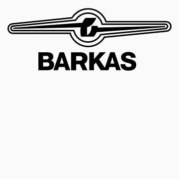 *Barkas - VW van goes East Germany* - BLACK by bluedog725
