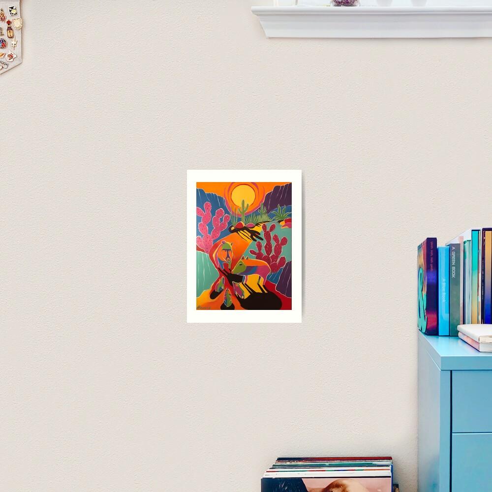 Javelina Familia III Art Print