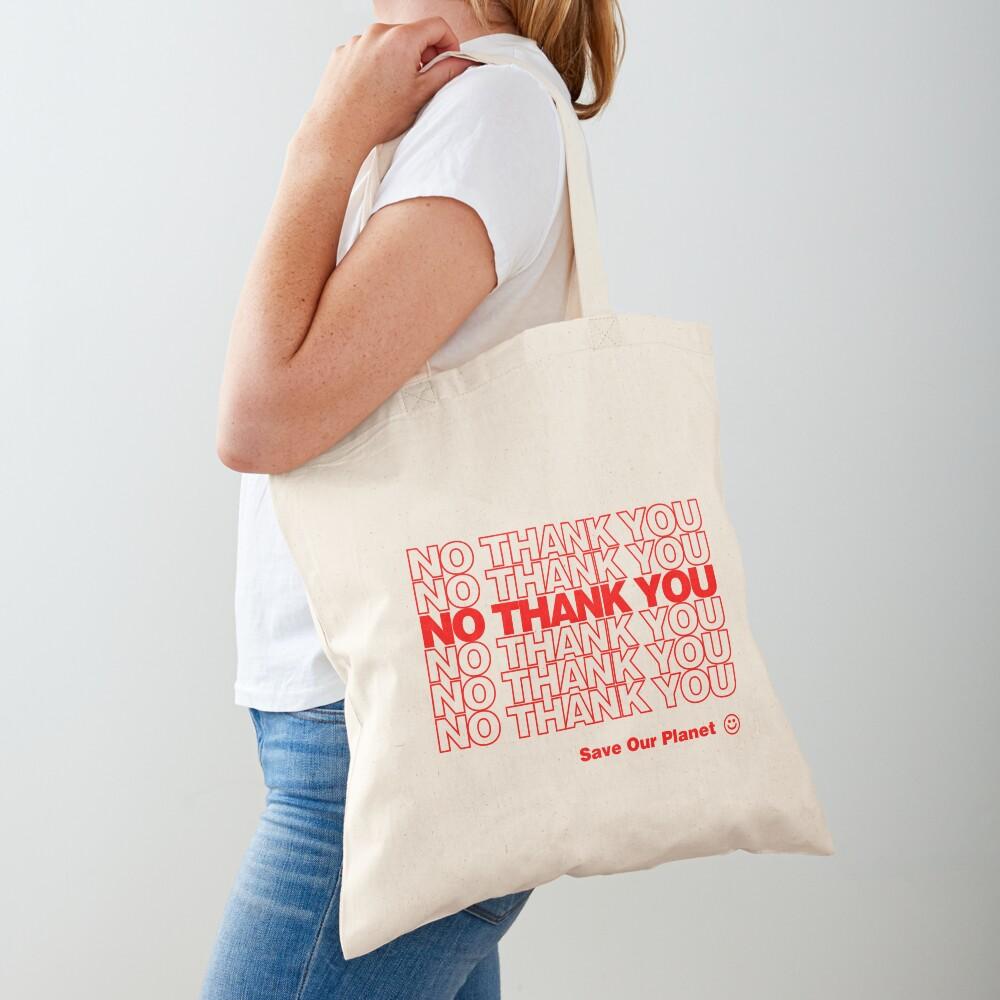 No Thank You   Hipster/Trendy/Tumblr Meme Tote Bag