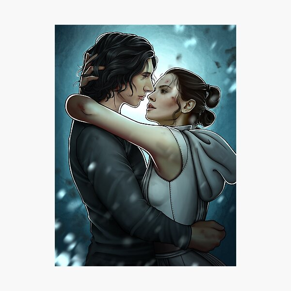 Reylo - I'll hold every second with you and never let it end Photographic Print