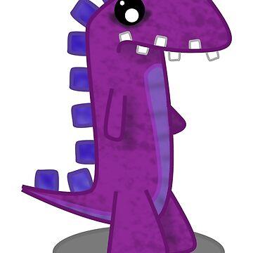 Purple Dinosaur by 106films