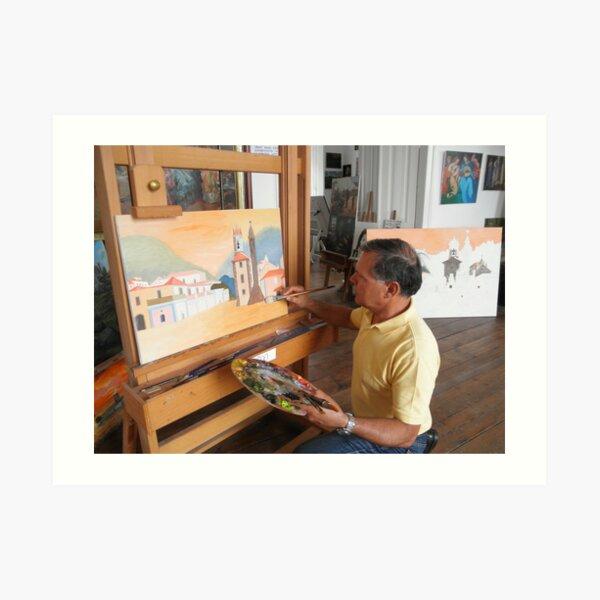 School of Arts in Sintra, Master Almeida Coval - Escola de Artes de Sintra-Mestre Almeida Coval  Art Print