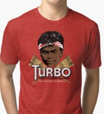 Turbo Street Cleaning Services Tri-blend T-Shirt