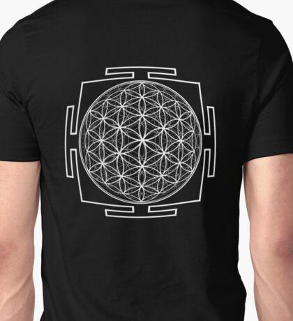 Flower_of_Life_Yantra - Antar Pravas 2011 - Visionary Art T-Shirt