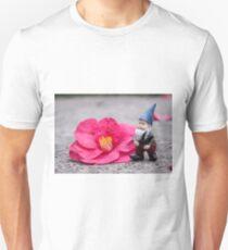 Picking Flowers Gnome Unisex T-Shirt