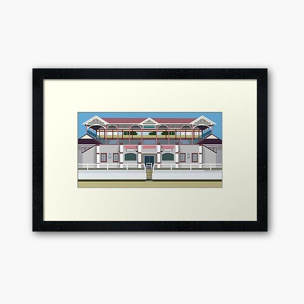 Showground Pavilion 2019 Framed Art Print