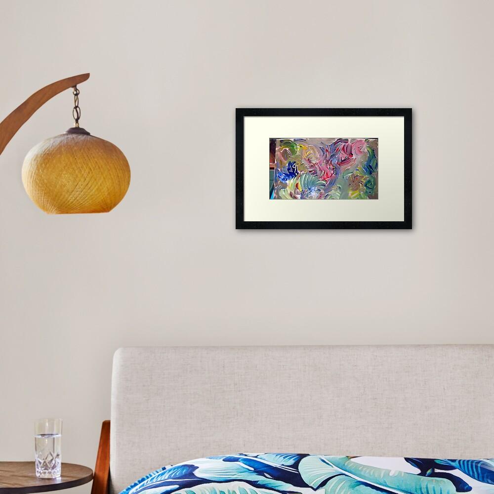 """Elementals"" Framed Art Print"