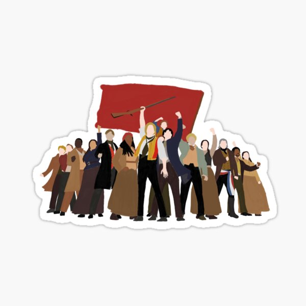 Les Mis: One Day More Sticker