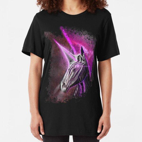 Space Unicorn  Slim Fit T-Shirt