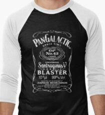 Pan Galactic Gargle Blaster - No. 42 [WHITE] Men's Baseball ¾ T-Shirt