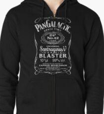 Pan Galactic Gargle Blaster - No. 42 [WHITE] Zipped Hoodie