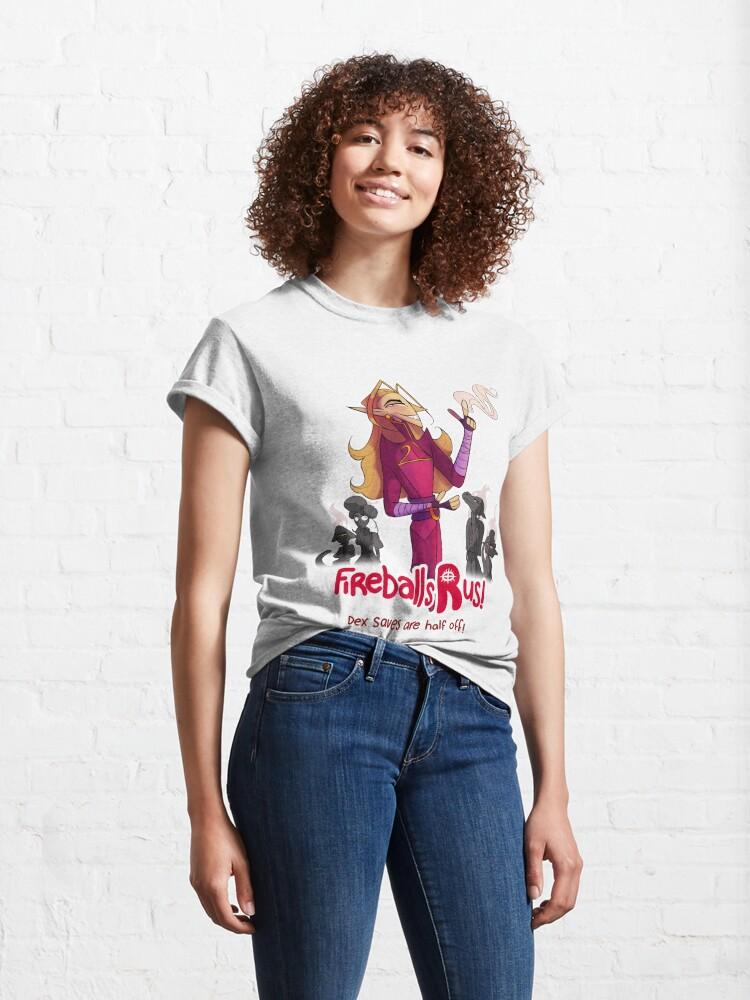 Alternate view of Fireballs R Us! Classic T-Shirt