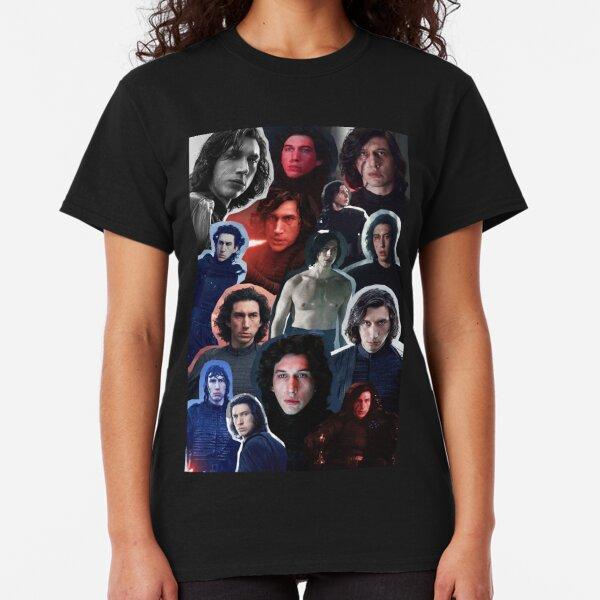 Adam Driver as Ben/Kylo Collage Edit Classic T-Shirt