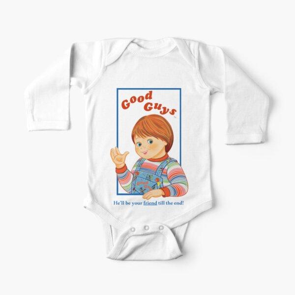 Child's Play - Good Guys - Chucky Long Sleeve Baby One-Piece