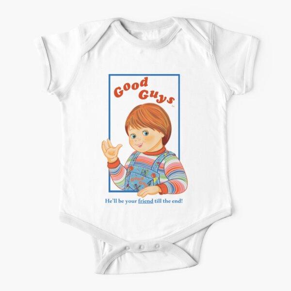 Child's Play - Good Guys - Chucky Short Sleeve Baby One-Piece