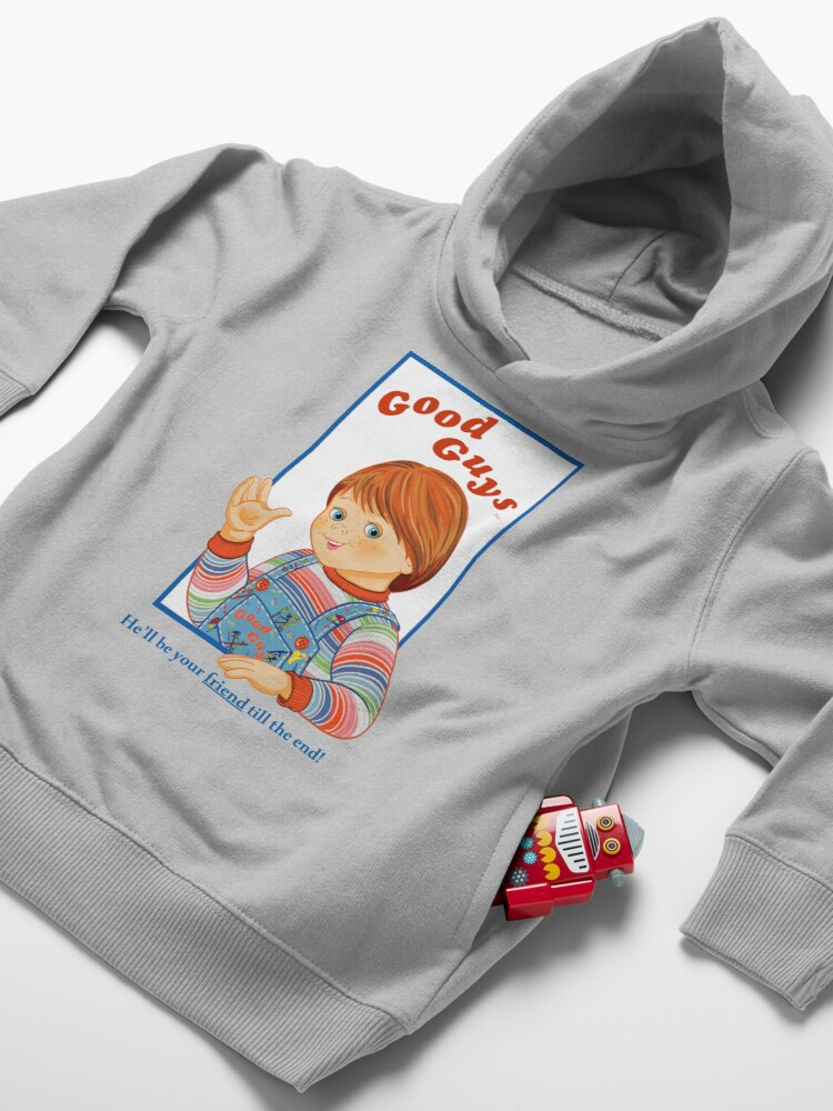Alternate view of Child's Play - Good Guys - Chucky Toddler Pullover Hoodie