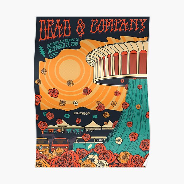 High Quality Poster - The Forum Los Angeles, ca December 27 2019 Poster