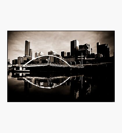 Melbourne, Yarra Crossing Photographic Print