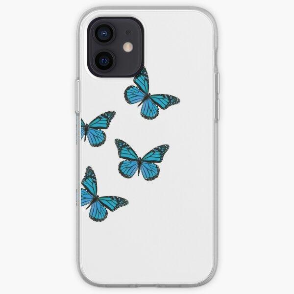 Conception de papillon Coque souple iPhone