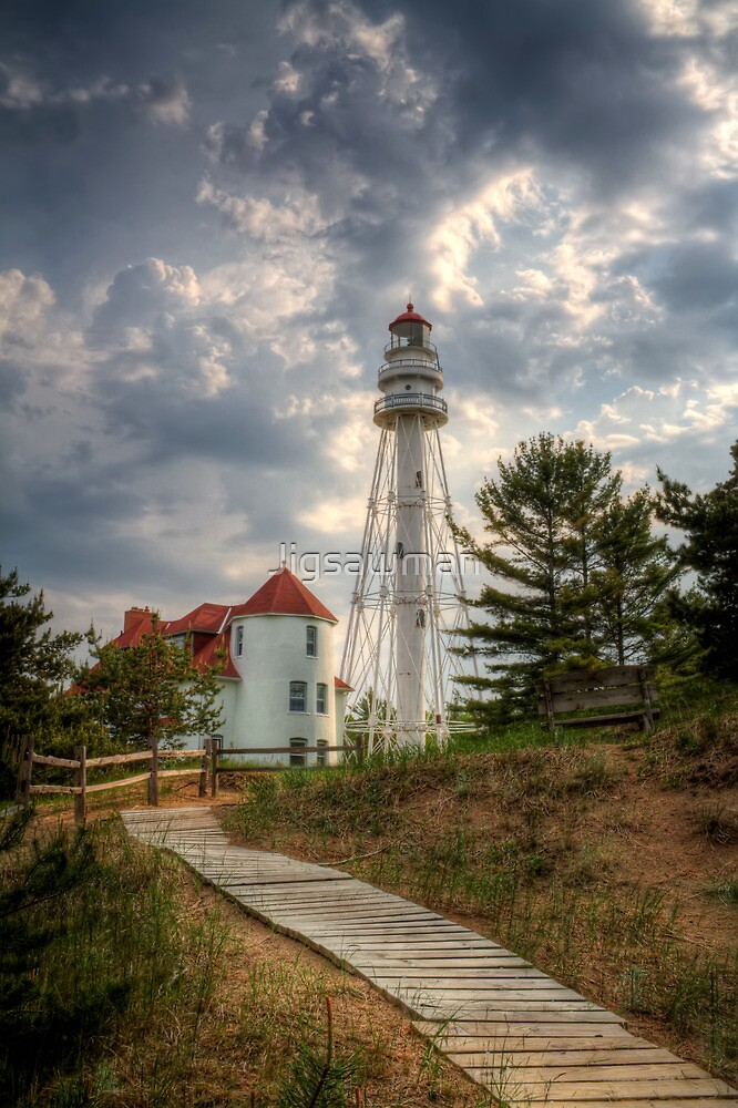 Quot Rawley Point Lighthouse Quot By Jigsawman Redbubble