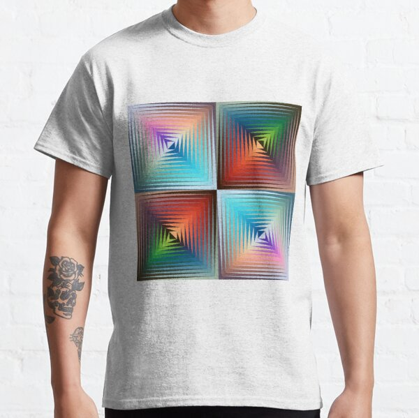 Victor #Vasarely, was a Hungarian-French #artist, who is widely accepted as a #grandfather and leader of the #OpArt movement Classic T-Shirt