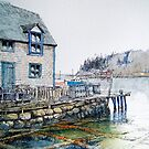 Lobster Traps in Northwest Cove, Nova Scotia by Chris Jessup
