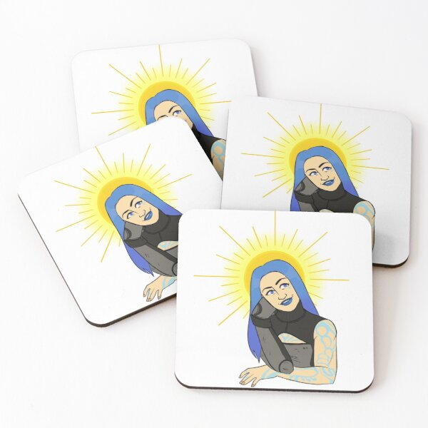 Maya the Siren from Borderlands 3 Coasters (Set of 4)