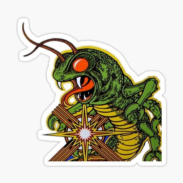 Reptilia - plus grand Sticker fini brillant