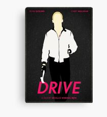 Drive film poster Canvas Print