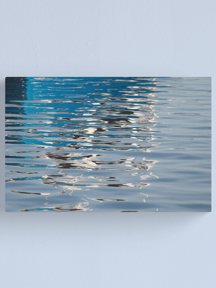 Alternate view of Lazy Day at the Bay Canvas Print
