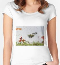 """""""Big Gator"""" Women's Fitted Scoop T-Shirt"""