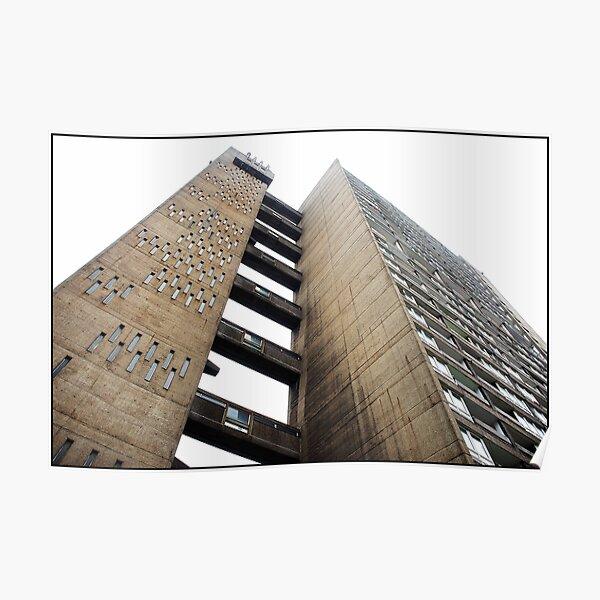 Balfron Tower, Poplar, London Poster