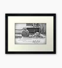 Let It Be Framed Print
