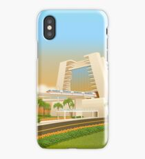Monorail at Contemporary iPhone Case