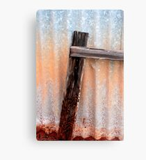 Rust & Dust Metal Print
